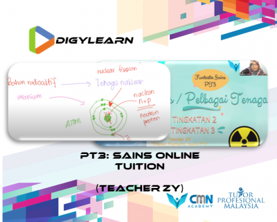 PT3: Science Online Tuition June 2020 by Teacher Zy