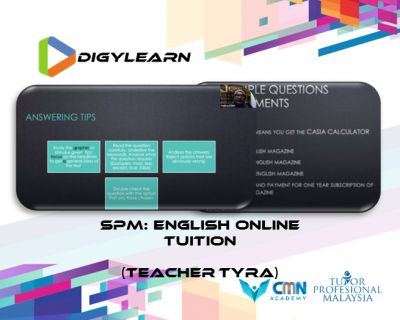 SPM: English Online Tuition June 2020 by Teacher Tyra