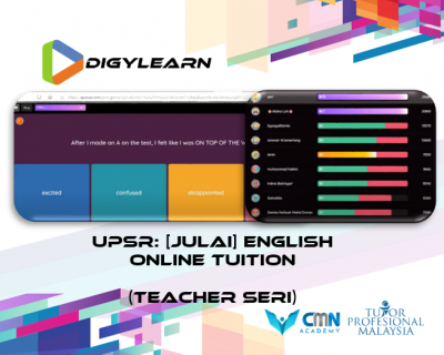 UPSR: English Online Tuition July 2020 by Teacher Seri