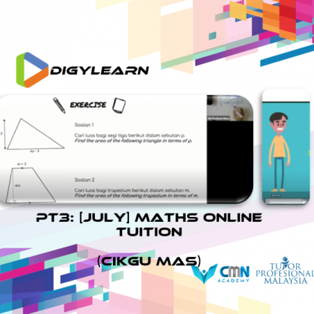 PT3: Mathematics Online Tuition July 2020 by Cikgu Mas