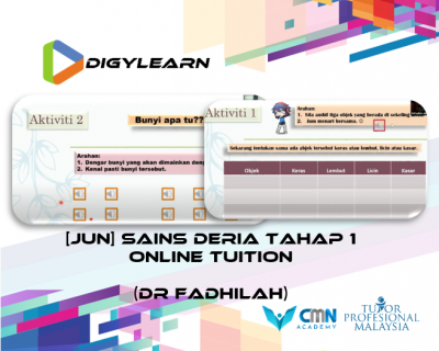 Tahap 1: Science Online Tuition June 2020 by Dr Fadhilah