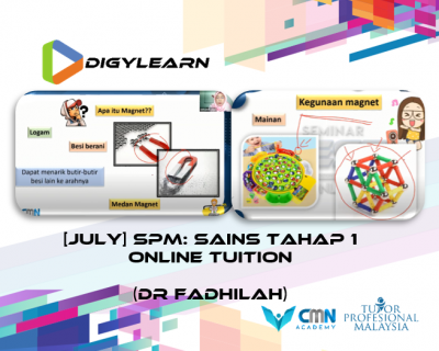 Tahap 1: Science Online Tuition July 2020 by Dr Fadhilah