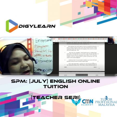 SPM: English Online Tuition July 2020 by Teacher Seri