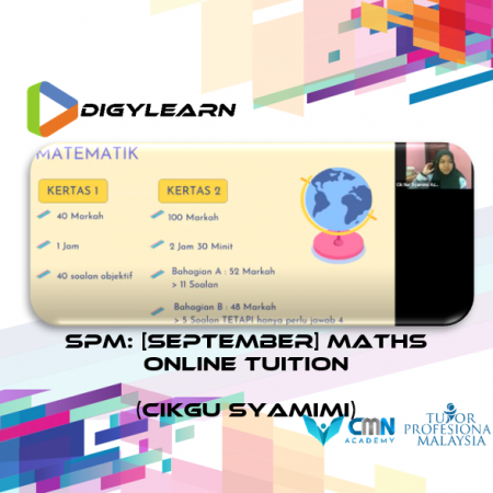 SPM: Mathematics Online Tuition September 2020 by Cikgu Syamimi